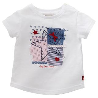 Buy Levi's Baby Short Sleeve Star T-Shirt, White Online at johnlewis.com