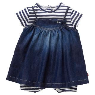 Buy Levi's Baby Dress Set, Denim Online at johnlewis.com