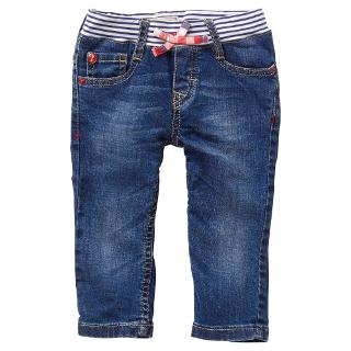 Buy Levi's Stripe Pull On Rib Waist Jeans, Denim Online at johnlewis.com