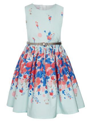 Buy John Lewis Girl Floral Border Prom Dress Online at johnlewis.com