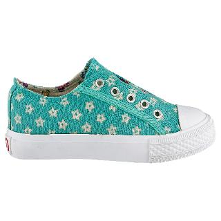 Buy Cath Kidston Starry Canvas Shoes, Mint Online at johnlewis.com