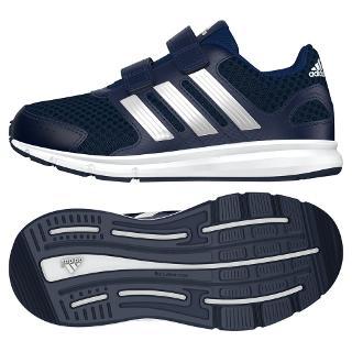 Buy Adidas Children's LK Sport Running Trainers, Navy Online at johnlewis.com