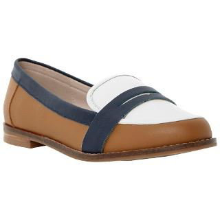 Buy Dune Guapo Penny Leather Loafers Online at johnlewis.com