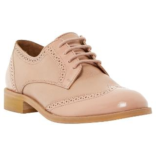 Buy Dune Leslee D Lace Up Leather Brogues Online at johnlewis.com