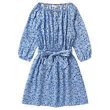 Buy Jigsaw Junior Girls' Ditsy Print Dress, Blue Online at johnlewis.com