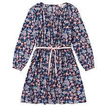 Buy Jigsaw Junior Girls' Floral Print Dress, Multi Online at johnlewis.com