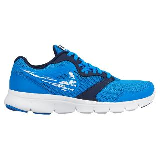Buy Nike Children's Flex Experience Running Trainers, Blue/White Online at johnlewis.com