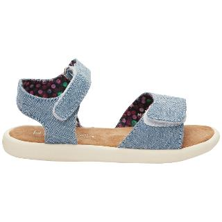 Buy TOMS Chambray Sandals, Blue Online at johnlewis.com