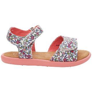 Buy TOMS Floral Print Sandals, Multi Online at johnlewis.com