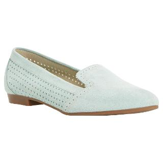 Buy Dune Glorie Suede Loafers, Mint Online at johnlewis.com
