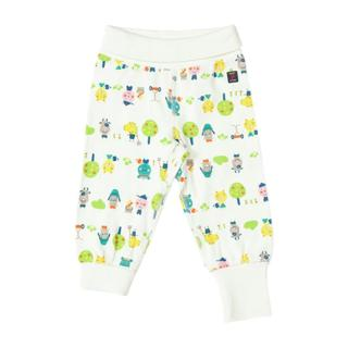 Buy Polarn O. Pyret Baby Animal Print Trousers, White Online at johnlewis.com
