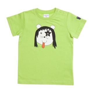 Buy Polarn O. Pyret Baby Animal T-Shirt, Green Online at johnlewis.com