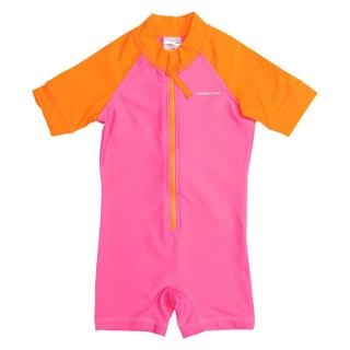 Buy Polarn O. Pyret Baby UV Sun Safe Swimsuit, Pink Online at johnlewis.com