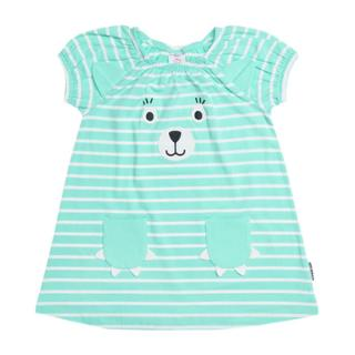 Buy Polarn O. Pyret Baby Appliqué Dress, Blue Online at johnlewis.com