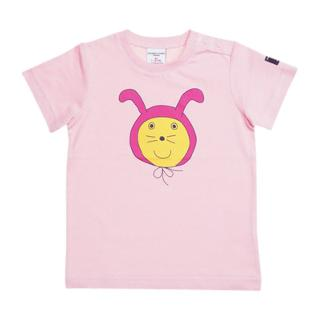 Buy Polarn O. Pyret Baby Motif T-Shirt, Pink Online at johnlewis.com
