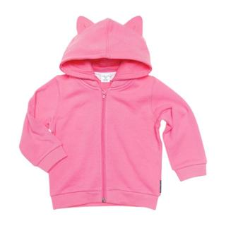 Buy Polarn O. Pyret Baby Hoodie, Pink Online at johnlewis.com