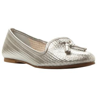 Buy Dune Geishas Leather Woven Slipper Shoes Online at johnlewis.com