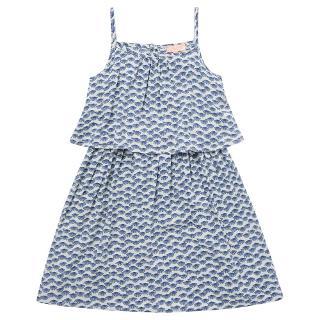 Buy Jigsaw Junior Girls' Fan Print Sun Dress, White Online at johnlewis.com