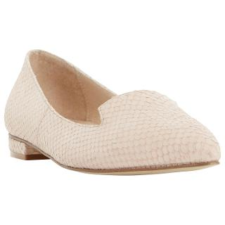 Buy Dune Gracee Leather Pointed Reptile Loafers Online at johnlewis.com