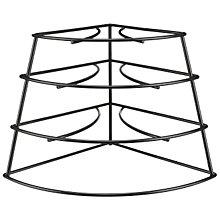 Buy John Lewis 4 Tier Corner Plate Stacker Rack, Black Online at johnlewis.com