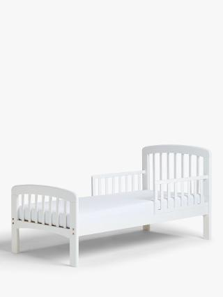Buy John Lewis Anna Junior and Toddler Bedstead, White Online at johnlewis.com