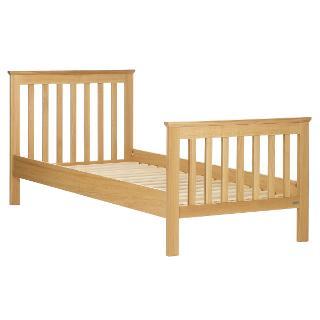 Buy John Lewis Lasko Solid Oak Single Bedstead, Natural Online at johnlewis.com