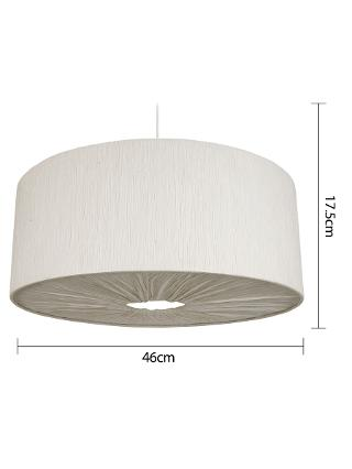 Buy John Lewis Easy-to-fit Libby Ceiling Shade, Natural Online at johnlewis.com