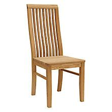 Buy John Lewis Henry Dining Chair, Wood Seat Online at johnlewis.com