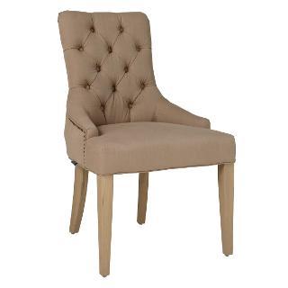Buy Neptune Henley Dining Chair, Mocha Linen Online at johnlewis.com