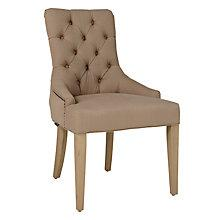 Buy Neptune Henley Dining Chair, Mocha Linen Online at johnlewis.com