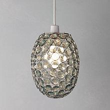 Buy John Lewis Easy-to-fit Adele Pendant Ceiling Light, Teal Online at johnlewis.com