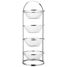 Buy 4 Tier Chrome Plated Vegetable Rack Online at johnlewis.com