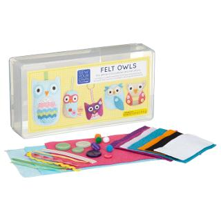 Buy Paper and String Owls Craft Kit Online at johnlewis.com