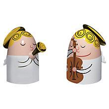 Buy Alessi Angel Band 1 Nativity Figures Online at johnlewis.com