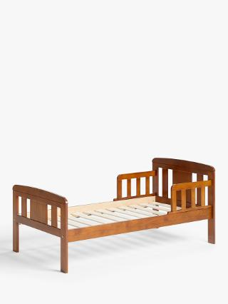 Buy John Lewis Boris Toddler Bedstead, Antique Darkwood Online at johnlewis.com