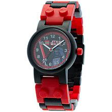 Buy LEGO Star Wars Darth Vader Watch, Red/Black Online at johnlewis.com