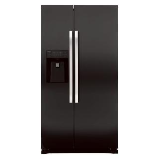 Buy John Lewis JLAFFB2011 American Style Fridge Freezer, Black Online at johnlewis.com