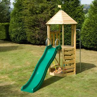 Buy TP Castlewood Tower with CrazyWavy Slide Set Online at johnlewis.com