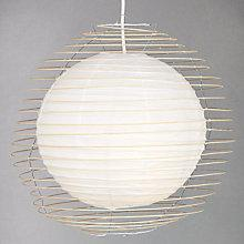 Buy John Lewis Easy-to-fit Kami Caged Paper Pendant Shade Online at johnlewis.com