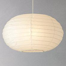 Buy House by John Lewis Easy-to-fit Tina Paper Oval Ceiling Light Online at johnlewis.com