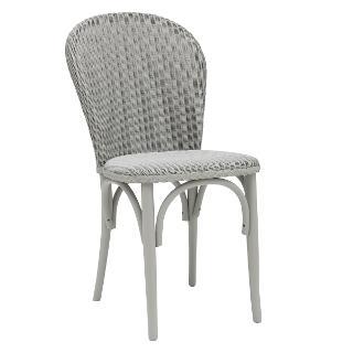 Buy Lloyd Loom of Spalding Bistro Chair, Arctic Grey Online at johnlewis.com