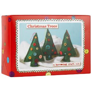 Buy Buttonbag Craft Kit, Christmas Trees Online at johnlewis.com