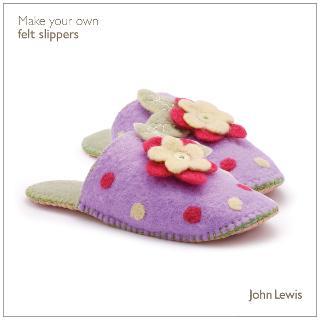 Buy John Lewis Make Your Own Felt Slippers Kit Online at johnlewis.com