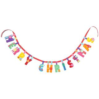 Buy Paper and String Sew Your Own Merry Christmas Garland Online at johnlewis.com