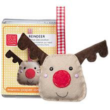 Buy Sew Your Own Christmas Decoration Kit, Reindeer Online at johnlewis.com