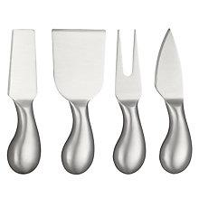 Buy John Lewis Stainless Steel Cheese Knives, Set of 4 Online at johnlewis.com