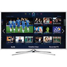 "Buy Samsung UE32F6510 LED HD 1080p 3D Smart TV, 32"" with Freeview/Freesat HD, Voice Control, White Online at johnlewis.com"
