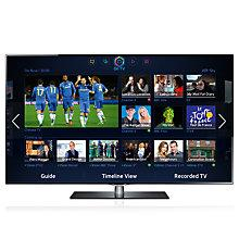 """Buy Samsung UE40F6740 LED HD 1080p 3D Smart TV, 40"""" with Freeview/Freesat HD and Voice Control with 2x 3D Glasses Online at johnlewis.com"""