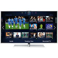 """Buy Samsung UE46F7000 LED HD 1080p 3D Smart TV, 46"""" with Freeview/Freesat HD and Voice/Motion Control with 2x 3D Glasses Online at johnlewis.com"""