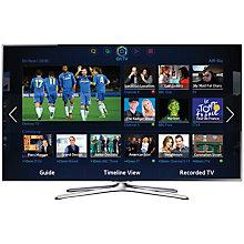 """Buy Samsung UE55F6500 LED HD 1080p 3D Smart TV, 55"""" with Freeview/Freesat HD, Voice Control and 2x 3D Glasses Online at johnlewis.com"""